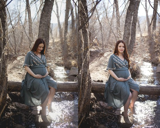 Colorado Springs maternity photographer