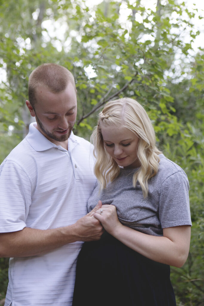 colorado springs maternity and engagement photography