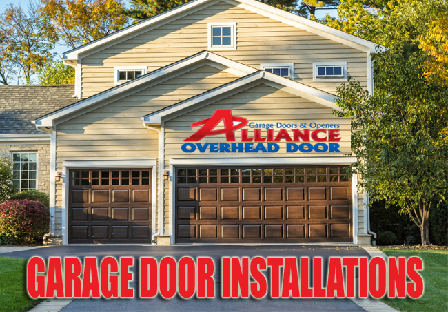 Residential Garage Door Installation Austin