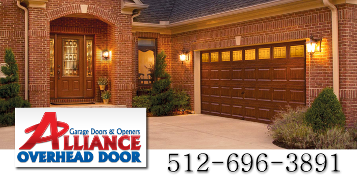 Faux Wood Insulated Garage Doors Austin TX