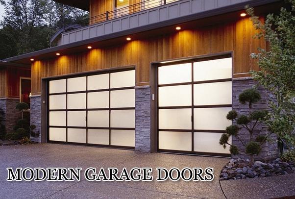 Modern Garage Doors Austin Texas