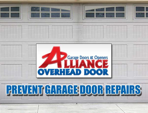 Preventing Garage Door Repairs