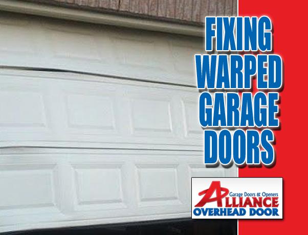 Fixing Warped Garage Door Austin TX