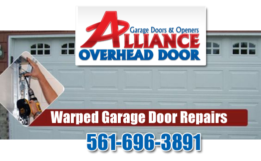 Warped Garage Doors Repairs Austin TX