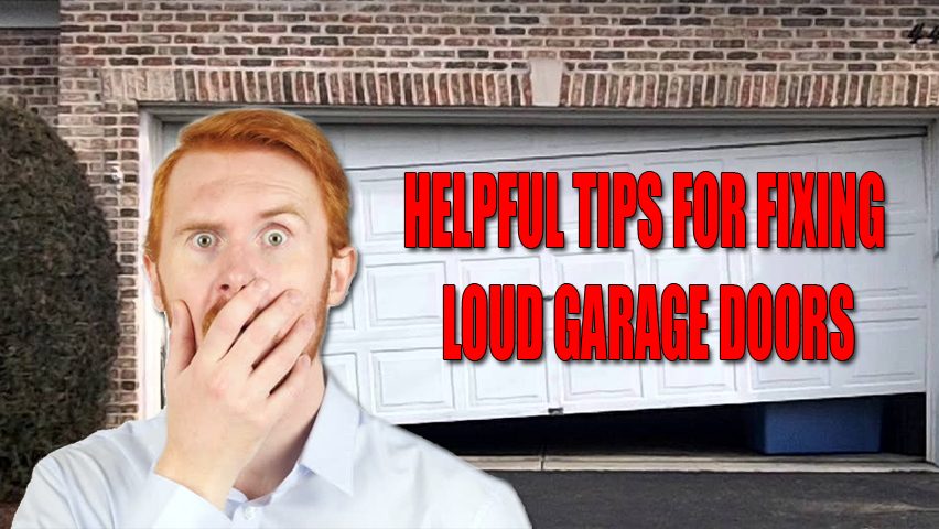How to Fix a Loud Garage Door