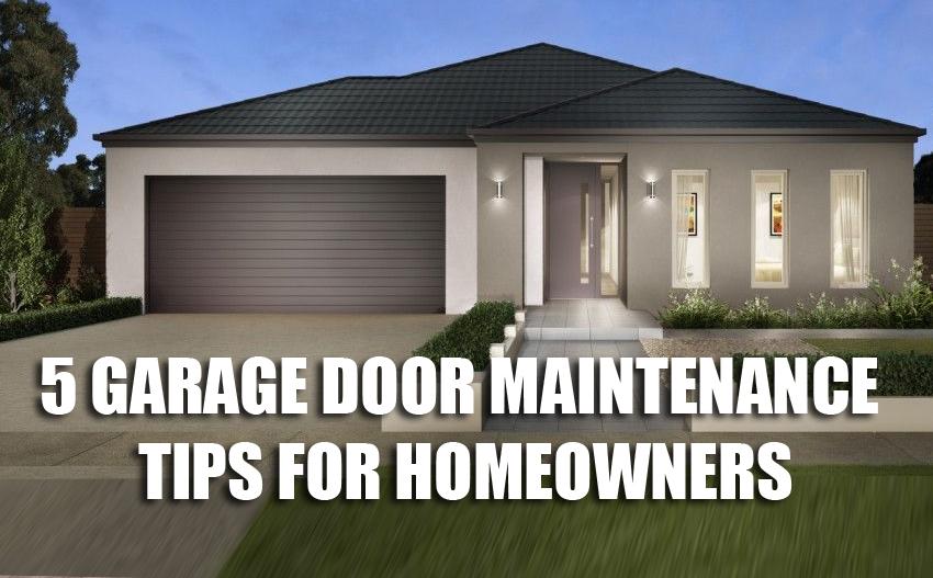 Tips for Maintaining Austin Garage Doors