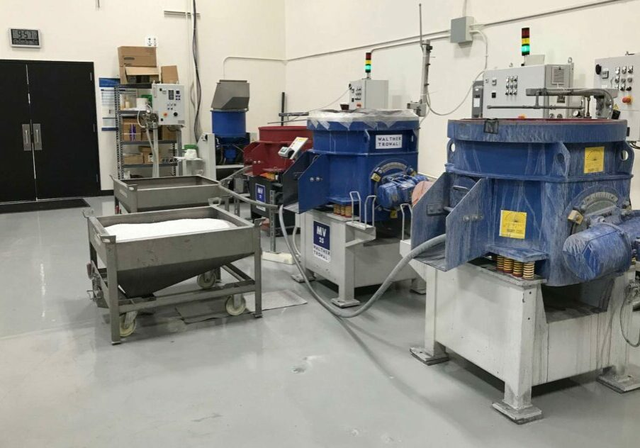 Surface Finishing Test Lab_Walther Trowal