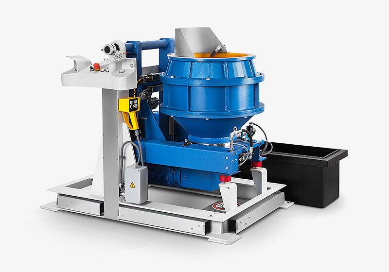 TT...B CENTRIFUGAL DISC FINISHING UNIT