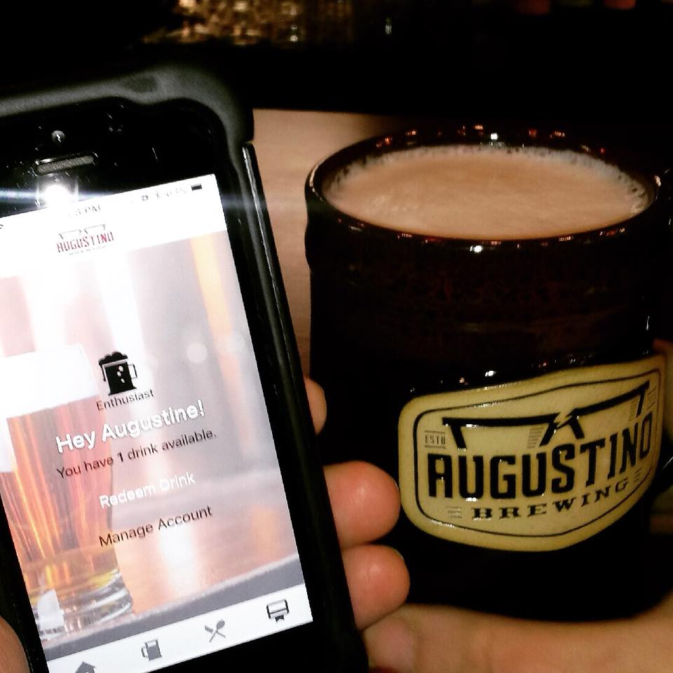 Beer Available for Augustino Brewing Mug Club Members