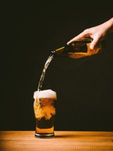Augustino Brewing Company Poured Beer