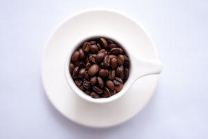 Augustino Brewing Beans in Coffee Mug