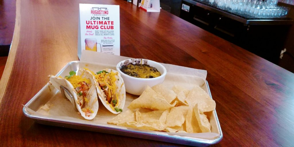 Picture of Augustino Brewing Company Blackened Shrimp Taco Meal