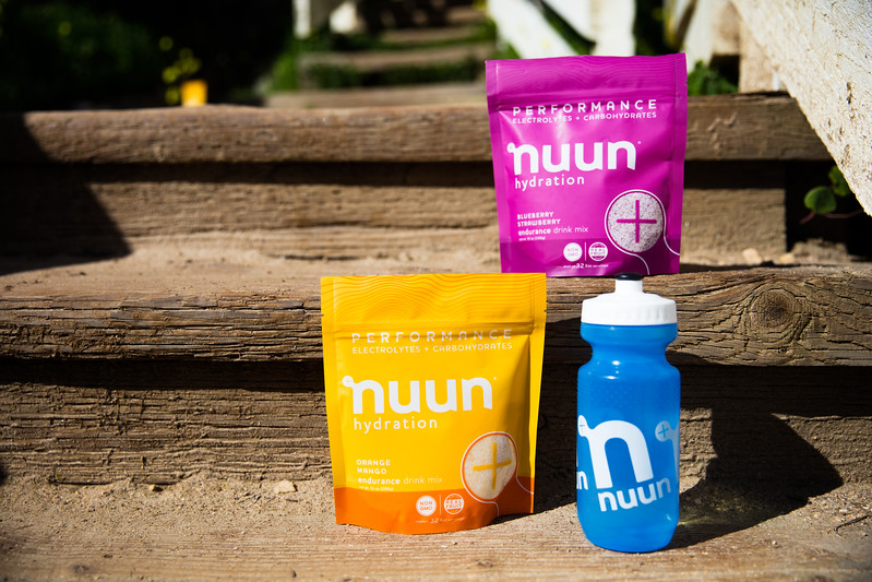 Hydrate with nuun performance before Rookie Tri.