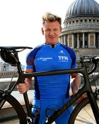 Triathlete Gordon Ramsay