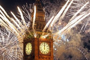 Big Ben fireworks TOPIC