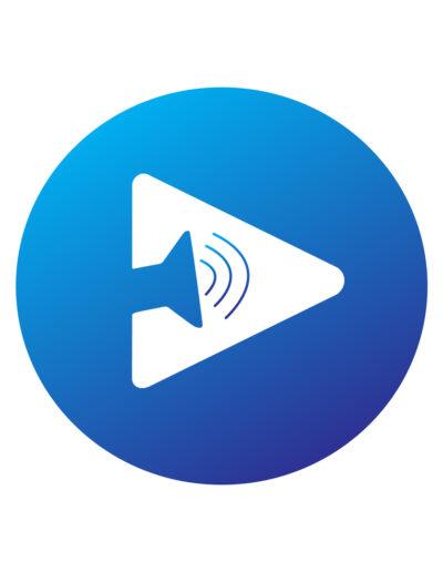 Izzo's Blue Light Productions Logo