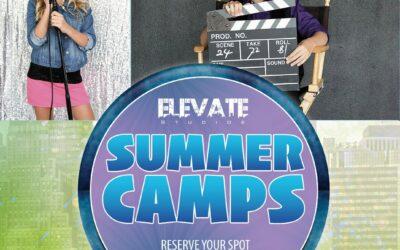 Summer Camp Rack Card Design