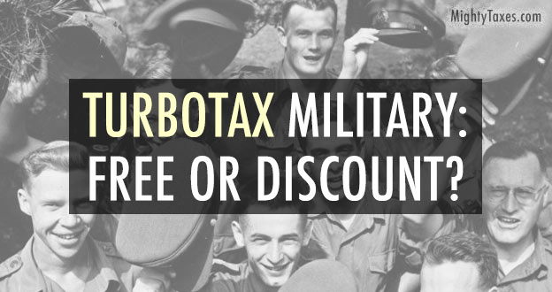turbotax military free discount