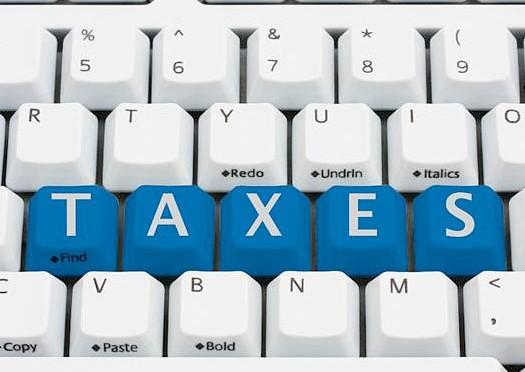 website or blog sale taxes