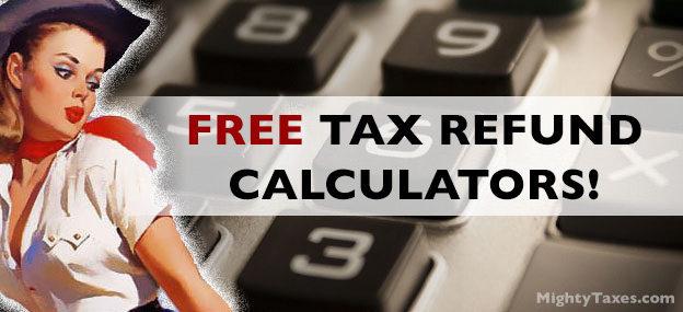 best free tax refund calculator