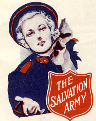 vintage salvation army poster
