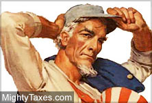 mighty taxes uncle sam