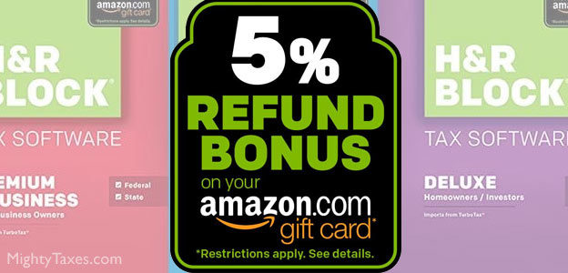 hr block amazon bonus gift card