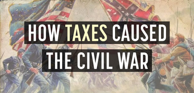 cause of civil war was taxes