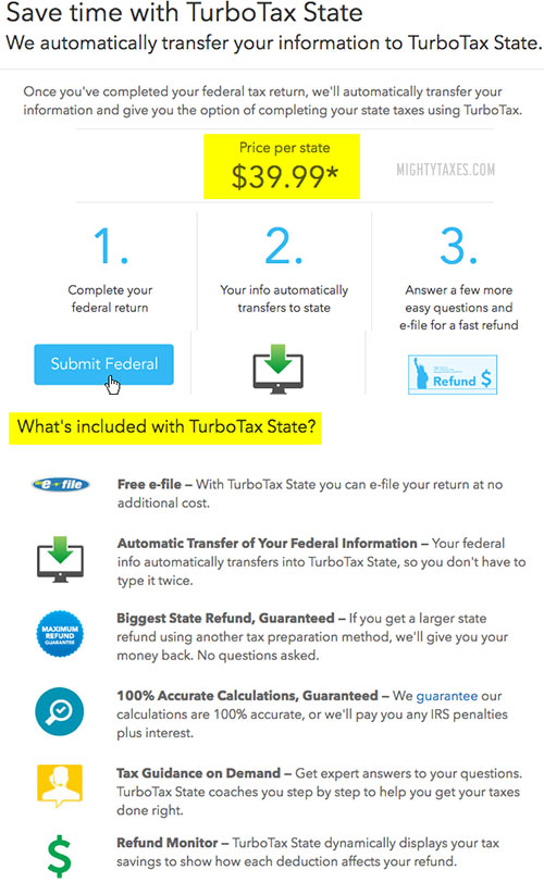can you file state taxes for free with turbotax