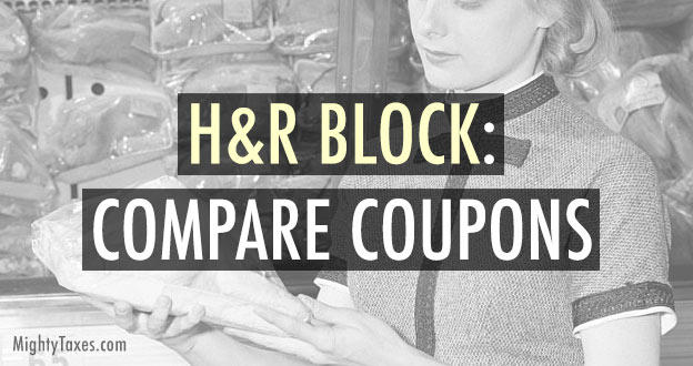 hr block compare coupons