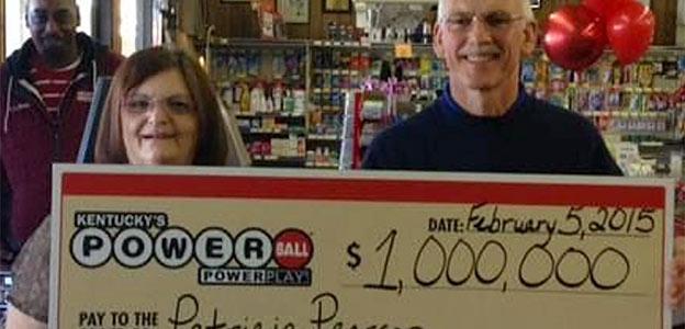 million dollar lottery win