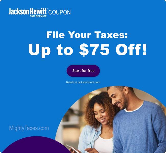 jackson hewitt coupon $75