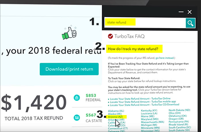 Turbotax track my refund 2019 | Best free tax software for