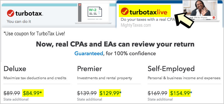 9 TurboTax Service Codes, Coupons | $10-20 Off (New!) \u2022 2019