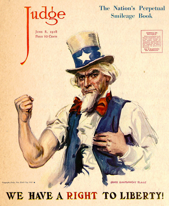 uncle sam american propaganda judge