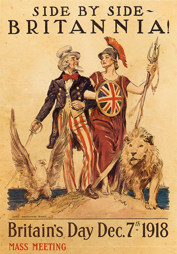 uncle sam britannia propaganda