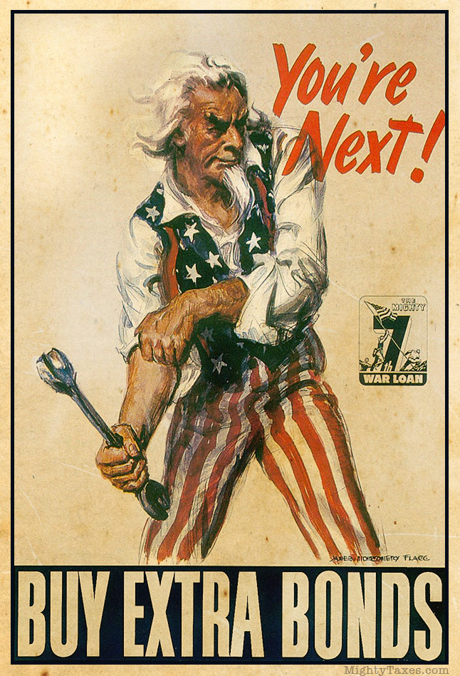 uncle sam propaganda poster