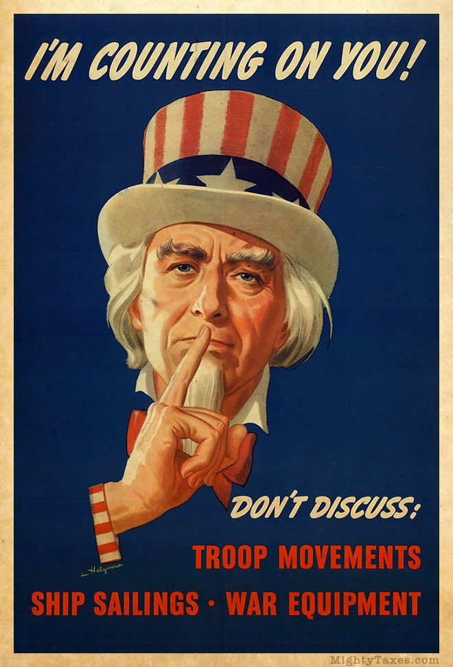uncle sam us propaganda poster shhh