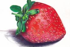 Strawberry-Coloured Pencil