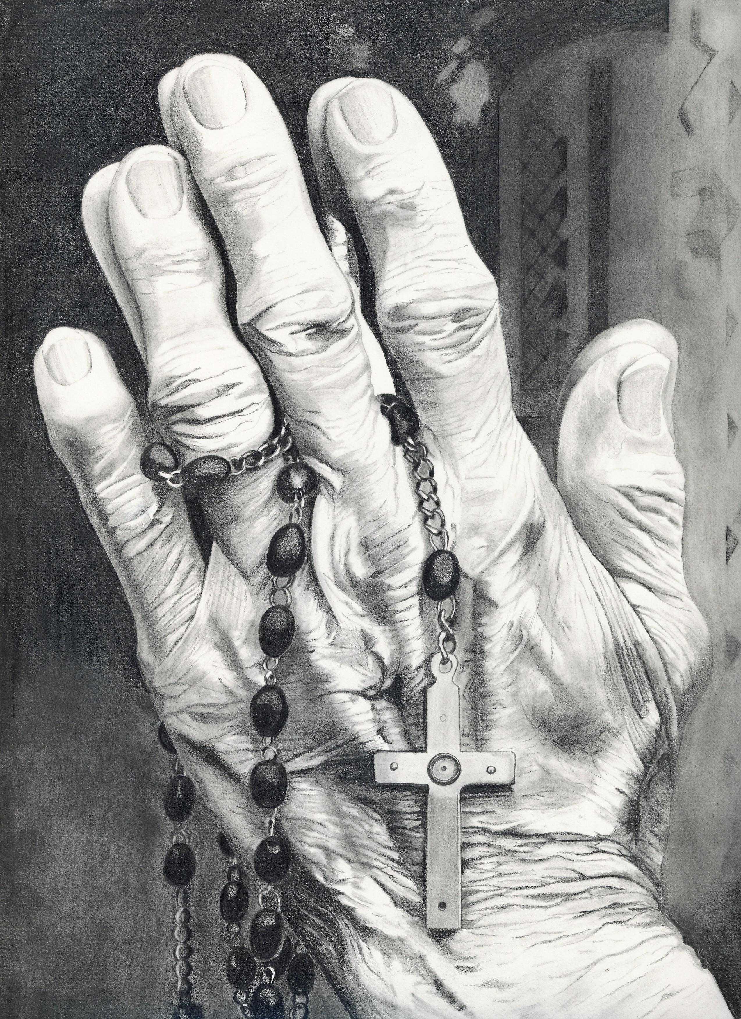 A Prayerful Life -Graphite-copy