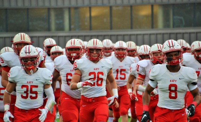 Katy reminded us why they are considered the cornerstone of TXHSFB