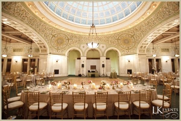 Chicago Cultural Center Wedding.Katie Patrick Chicago Cultural Center Lk Events Llc