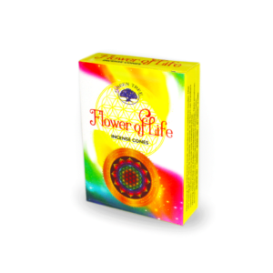 Flower of Life Incense Cones by Green Tree