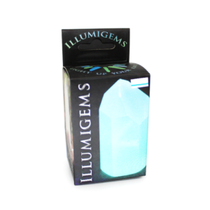 Illumigems Natural Glowing Night Light Crystal