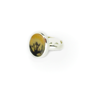 Scenic Dendritic Round Ring