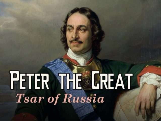 PETER THE GREAT & VODKA