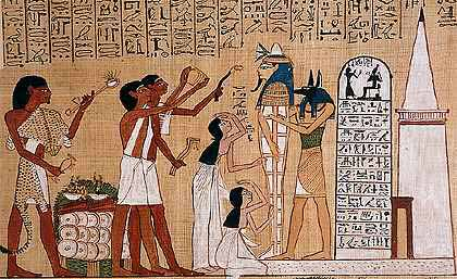 ANCIENT EGYPT AND WINE