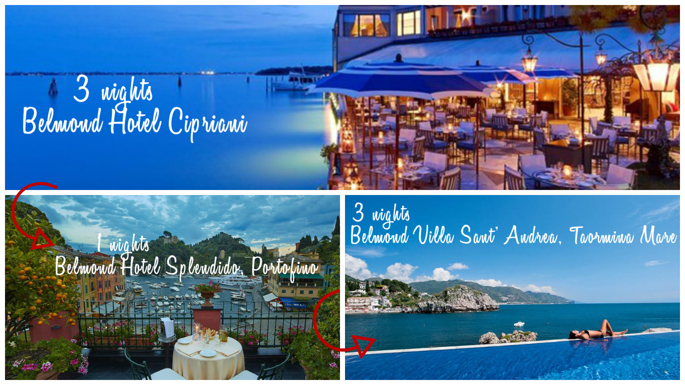 Grant Tour of Italy with Belmond