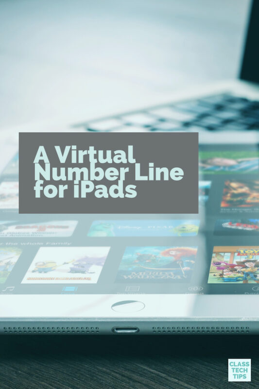 A Virtual Number Line for iPads