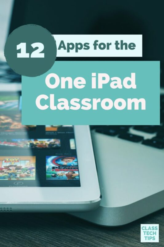 12 Apps for the One iPad Classroom